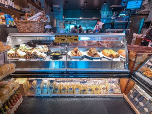 Butchers Hot food Counter