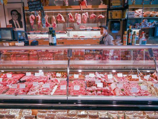 Serve-over Butchers Refrigerator 8