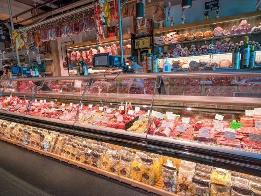 Serve-over Butchers Refrigerator 5