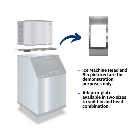 K00472 Ice Machine Adaptor Plate