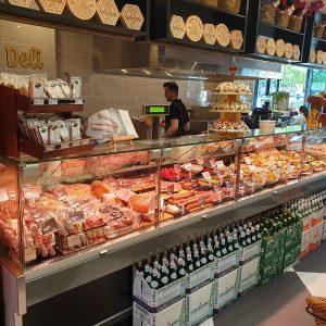Deli Case at the Albion Marketplace - Deli