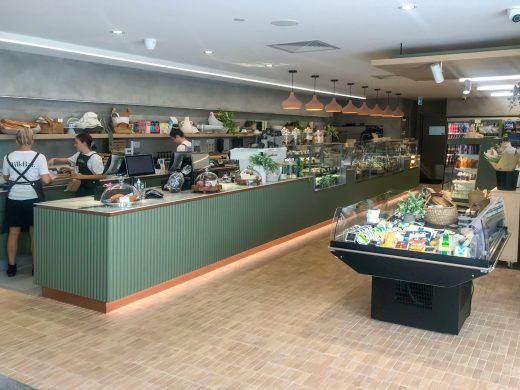 The Milk Bar Noosa QLD - Cheese Display