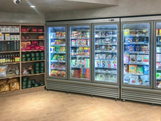 The Milk Bar Noosa QLD - Freezer
